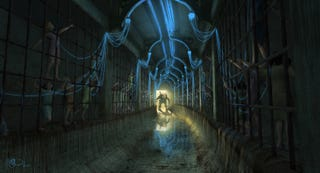 Illustration for article titled The Cancelled BioShock Movie At Least Looked The Part