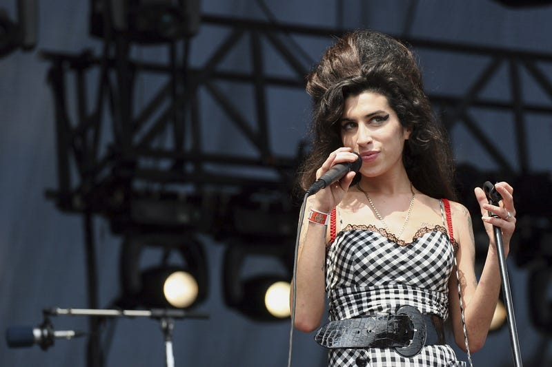 Amy Winehouse, performing at Lollapalooza in 2007