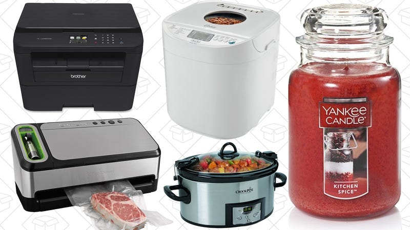 Illustration for article titled Today's Best Deals: Yankee Candles, FoodSavers, Laser Printer, and More