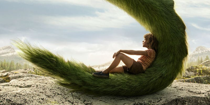 Pete's Dragon has been reimagined for a whole new generation. All Images: Disney