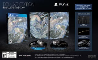 Illustration for article titled Heads Up - Final Fantasy XV Deluxe Edition now up for preorder