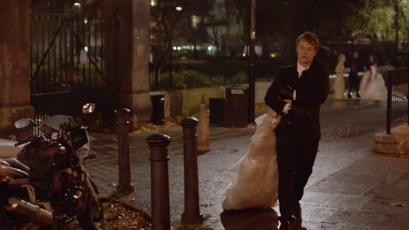 Alfie Allen in the original short film The Body
