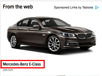 Illustration for article titled I don't think that's an E-Class