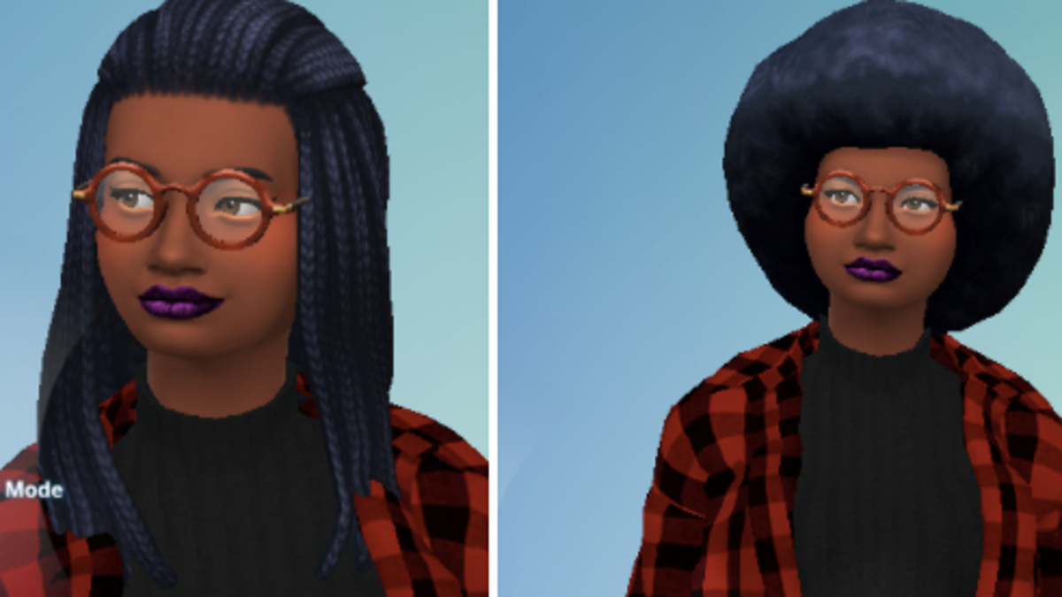 Mods Helped Me Make Myself In The Sims 4