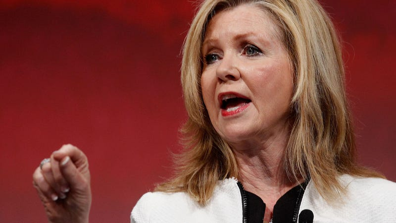 U.S. Congressman Marsha Blackburn speaks at the Defending the American Dream Summit sponsored by Americans For Prosperity at the Omni Hotel on August 29, 2014 in Dallas, Texas. (Photo: Getty)