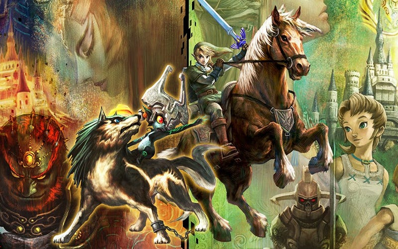 Illustration for article titled Why Players Love (And Love to Hate) The Original Twilight Princess