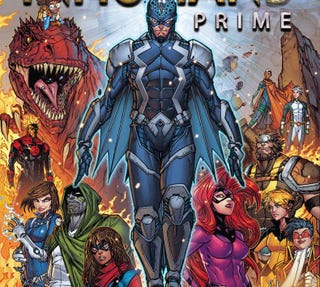 The cover to Inhumans Prime.