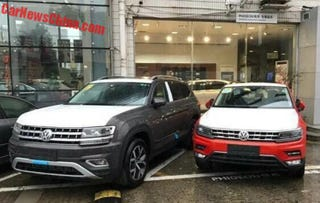 Illustration for article titled VW Atlas in China gets more power and a DCT