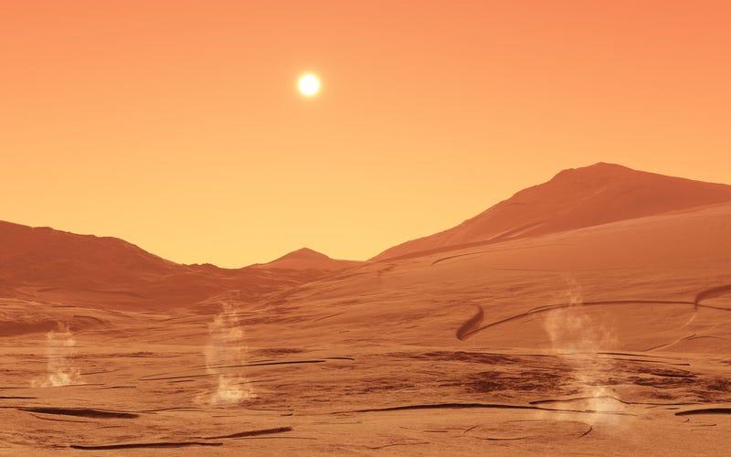 Illustration for article titled El misterio del metano (y la vida) en Marte enfrenta a los científicos