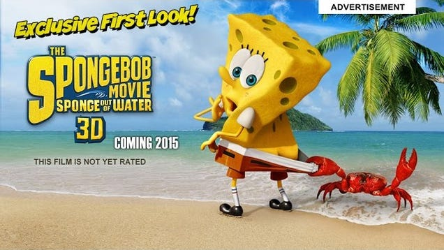 SpongeBob SquarePants The Live Action Movie Is Kind Of Creepy