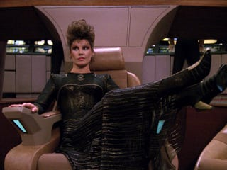 Illustration for article titled The Most Outrageous Fashions of Star Trek: TNG Seasons 4 Through 7