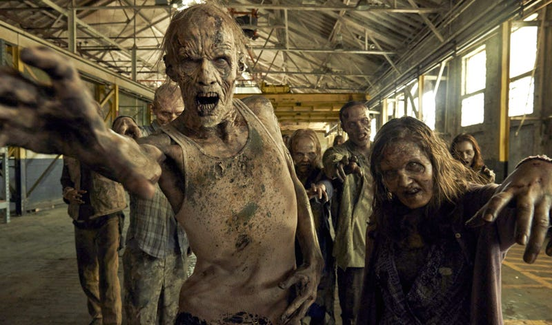 Illustration for article titled The Walking Dead Will Make a TV Special About Zombies on a Plane