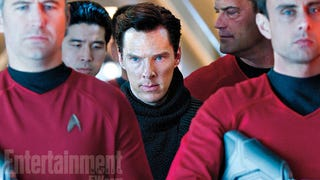 Here's a new shot of Benedict Cumberbatch in Star Trek Into Darkness