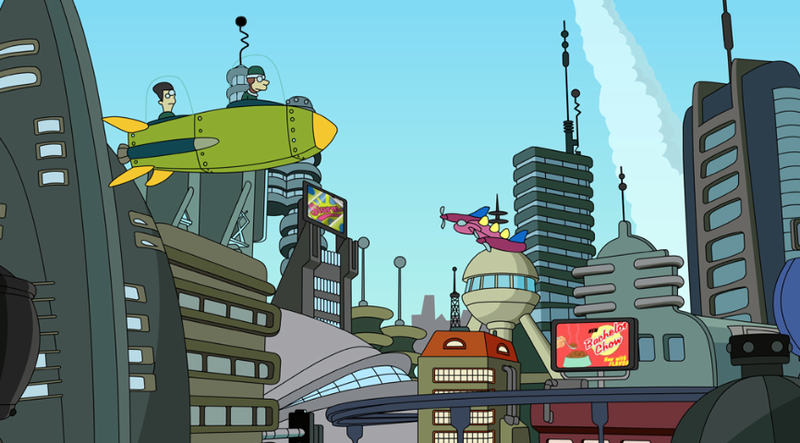 It's gonna look exactly like this, right? Image: Futurama
