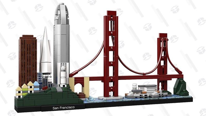 Set de LEGO de San Francisco | $40 | AmazonGráfico: Shep McAllister