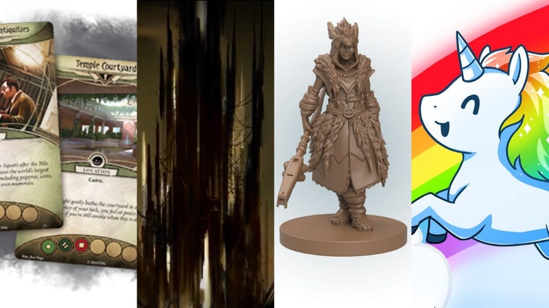Some looks at Guardians of the Abyss, Return to the Dark Tower, Horizon: Zero Dawn board game, and Unstable Unicorns.