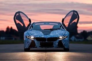 Illustration for article titled BMW Vision Sportscar: A Plug-In Hybrid Bird Of Prey