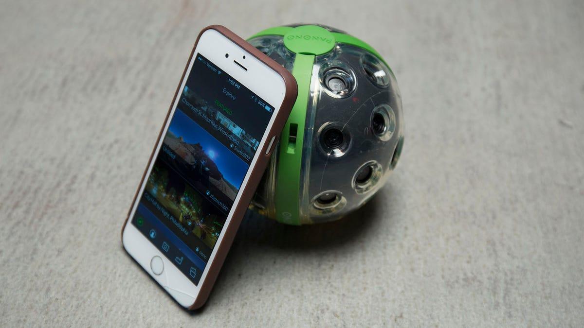 The Throwable 360 Degree Camera Ball Is Here Five Years Too Late Throw Your To Take Panoramic Photos