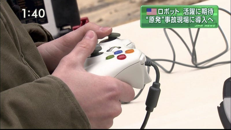 Illustration for article titled Fukushima Nuclear Plant Getting Help From...An Xbox 360 Controller?