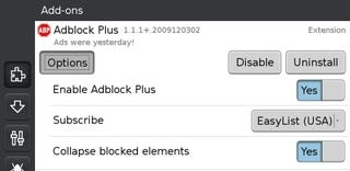 Illustration for article titled AdBlock Plus Working on Firefox Mobile Builds