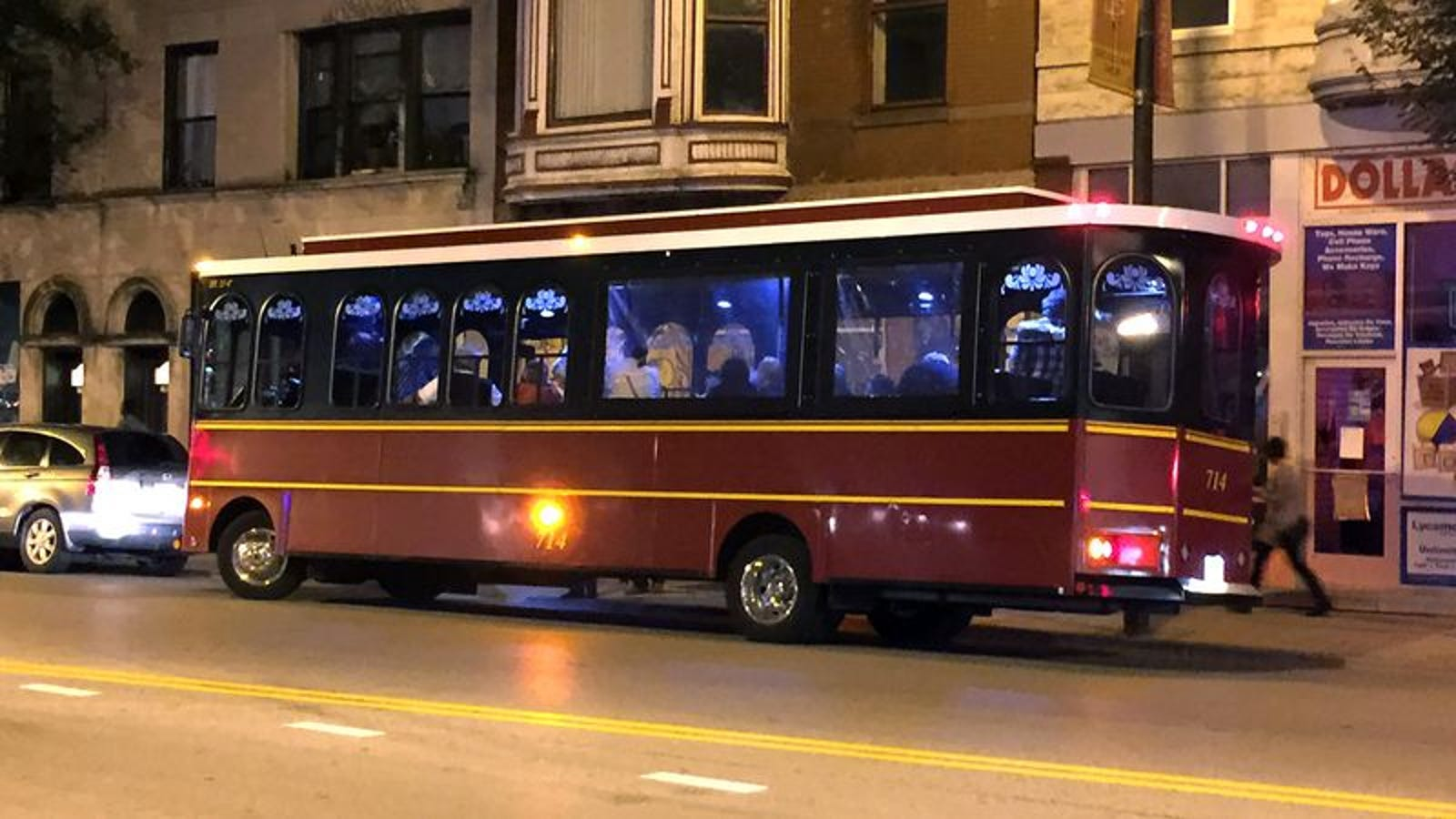 75% Of Party Trolley Defaulting On Student Loans
