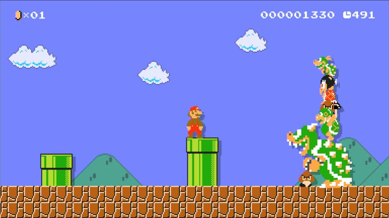 Illustration for article titled Nintendo Is Deleting People's Mario Maker Stages Without Telling Them Why