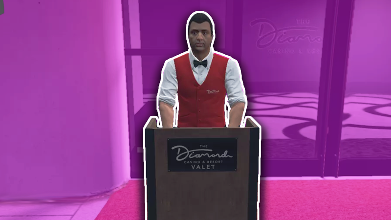 Illustration for article titled It Sucks Being A Valet In GTA Online