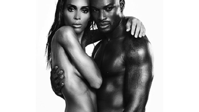 Illustration for article titled Tyson Beckford and Trans Model Ines Rau Are Gorgeously Naked