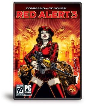 Illustration for article titled Red Alert 3 Art Team Gets A Gold Star