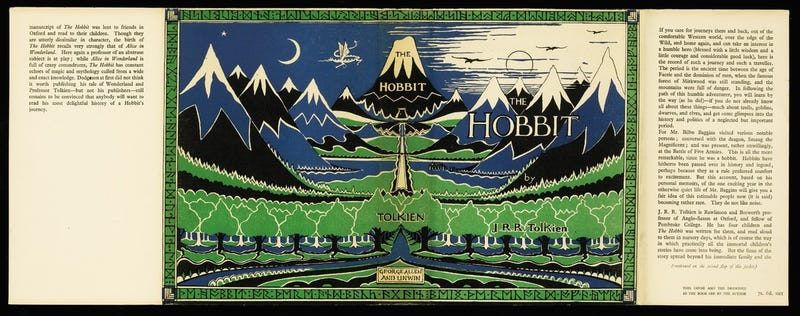 Illustration for article titled 1st Edition Of The Hobbit Sells For £137,000