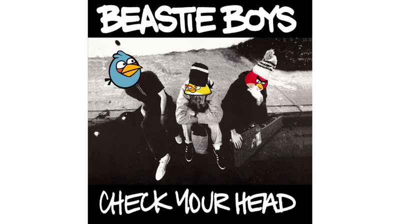 Illustration for article titled Angry Birds Plus Beastie Boys. Listen To It.
