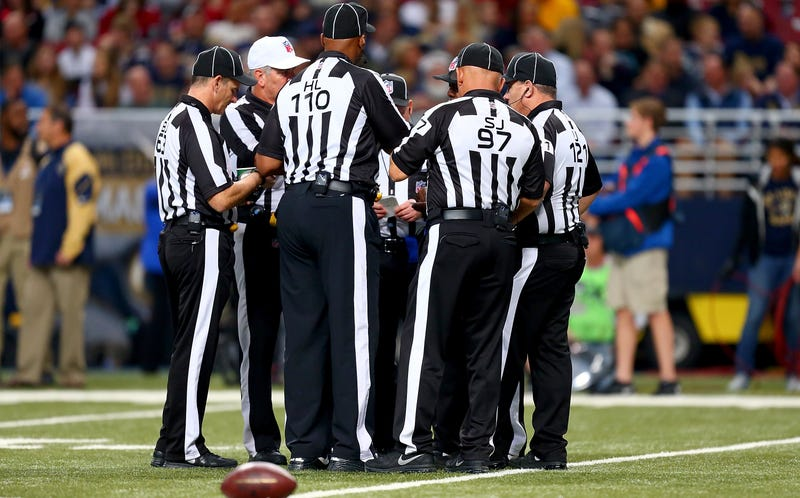 Illustration for article titled The NFL Is Making Sure Officials Don't Fuck Up In The Playoffs
