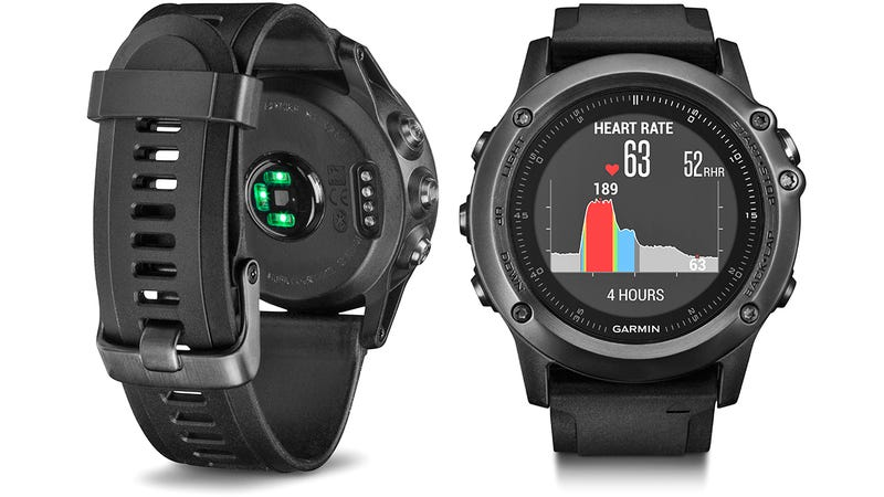 Illustration for article titled Goodbye Chest Straps, Garmin's Fenix 3 Multisport GPS Watch Gains a Heart Rate Monitor