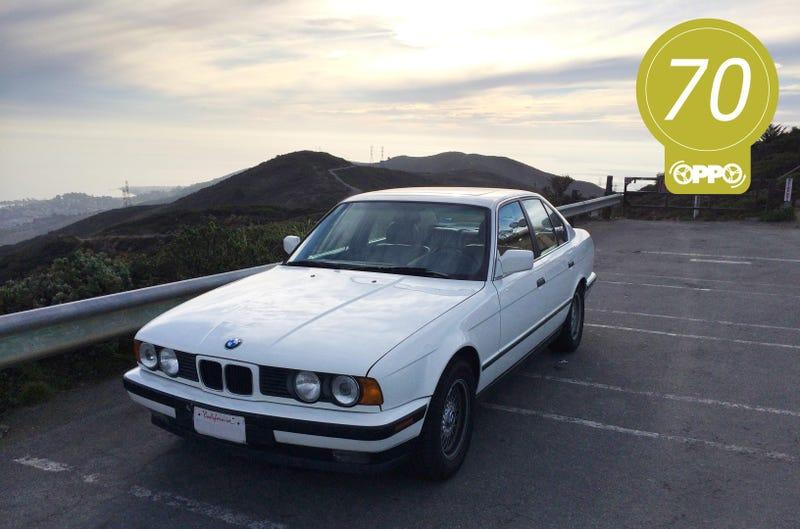 Illustration for article titled 1989 BMW 535i (E34): An Oppositelock Review