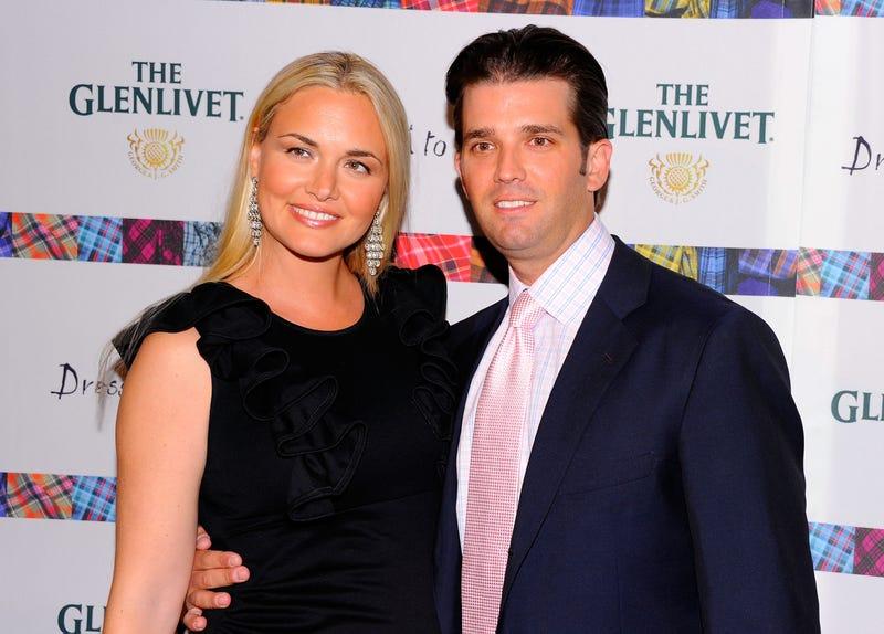 Vanessa Trump and Donald Trump Jr. in April 2011 in New York City