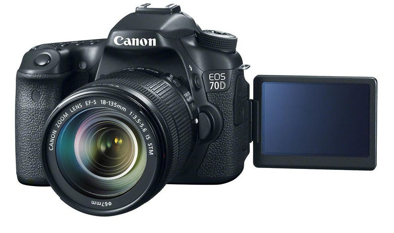 Illustration for article titled Canon's New EOS 70D is in the House