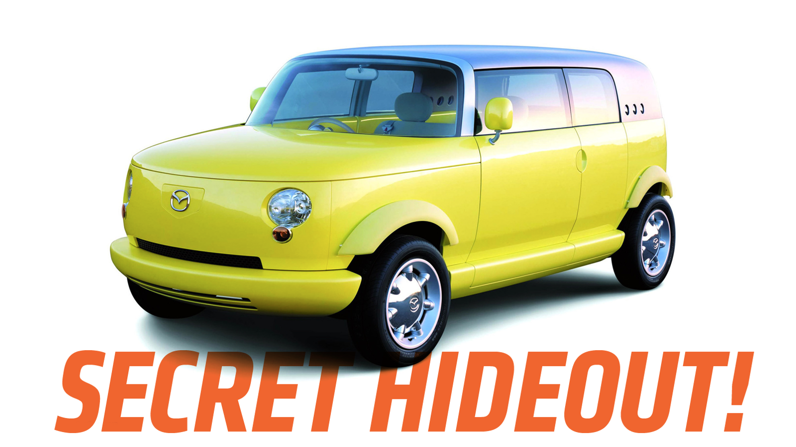 Mazda Once Built a Concept Car Called Secret Hideout