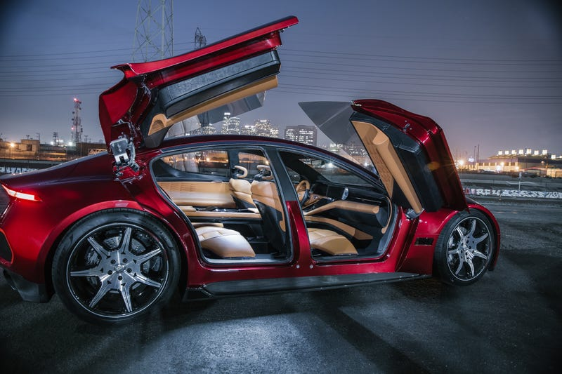Fisker S New Electric Car Bet Will Come Down To The Battery And Those Doors