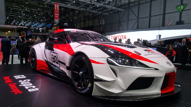 The Toyota GR Supra Racing Concept Is The HighPerformance Future Of - Toyota show car