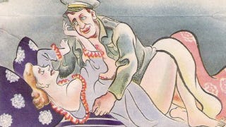 Illustration for article titled The pornographic psychological warfare campaigns of World War II