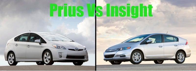 By The Numbers 2010 Toyota Prius Vs 2010 Honda Insight