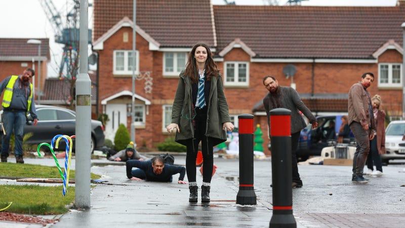 Ella Hunt is Anna in Anna and the Apocalypse.