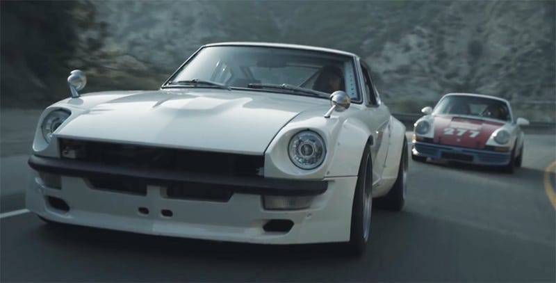 Feel like I can hear these cars even before pushing play. (Image Credit: Magnus Walker/YouTube)