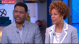 Zachary and Yvonne Ervin on Good Morning AmericaABC screenshot