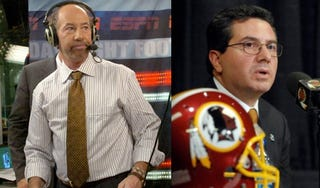 Illustration for article titled Tony Kornheiser Finally, Frustratingly Weighs In On Dan Snyder