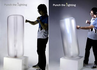 Illustration for article titled Punch the !ighting Turns Frustration Into Illumination