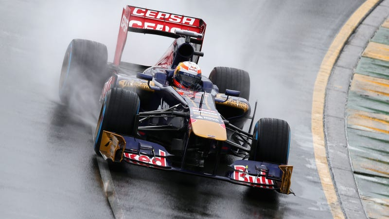 Illustration for article titled Formula One Australian Grand Prix Qualifying Pushed Back Due To Rain (Updated)
