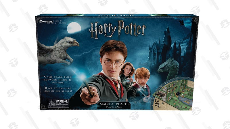 Harry Potter Magical Beasts Board Game |$12 | Walmart