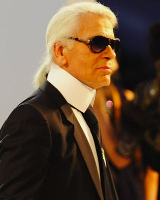 "Illustration for article titled Karl Thinks Feminists Are ""Ugly""; Posh Spice Gives Up On Armani"