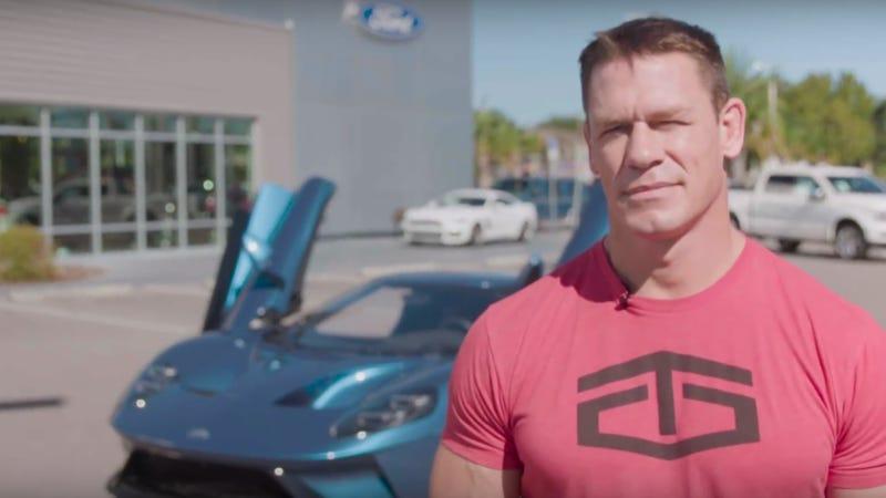 John Cena doszedł do porozumienia z firmą Ford